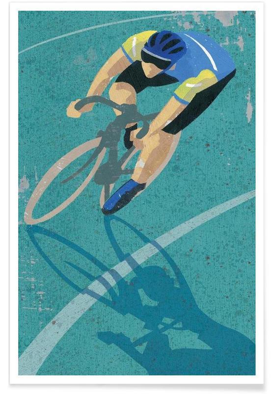 Cyclisme, Cycling affiche