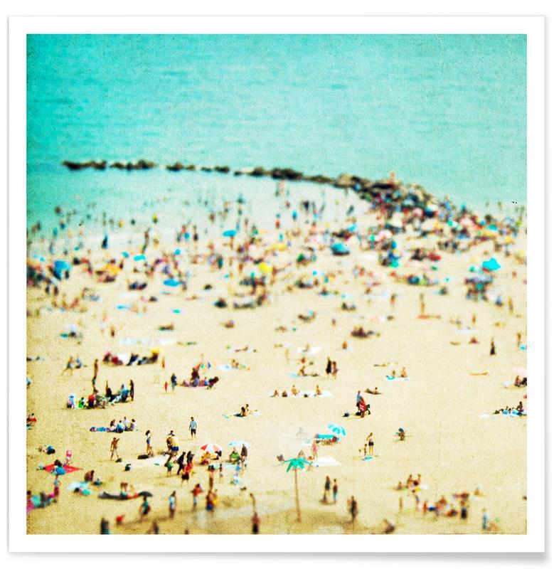 Plages, Coney Island Beach 2 affiche