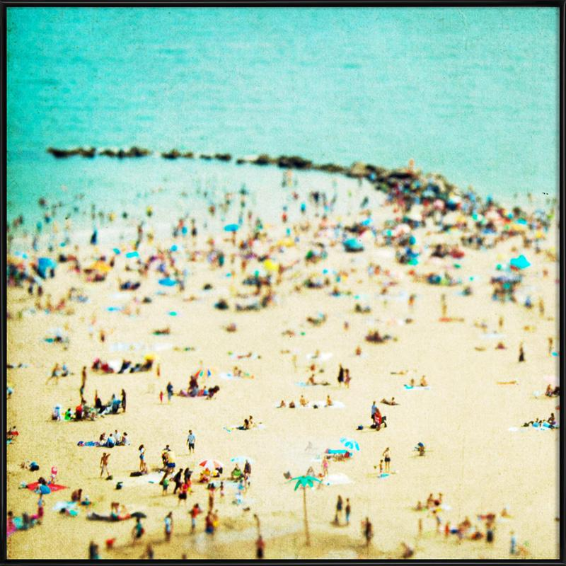 Coney Island Beach 2 Framed Poster