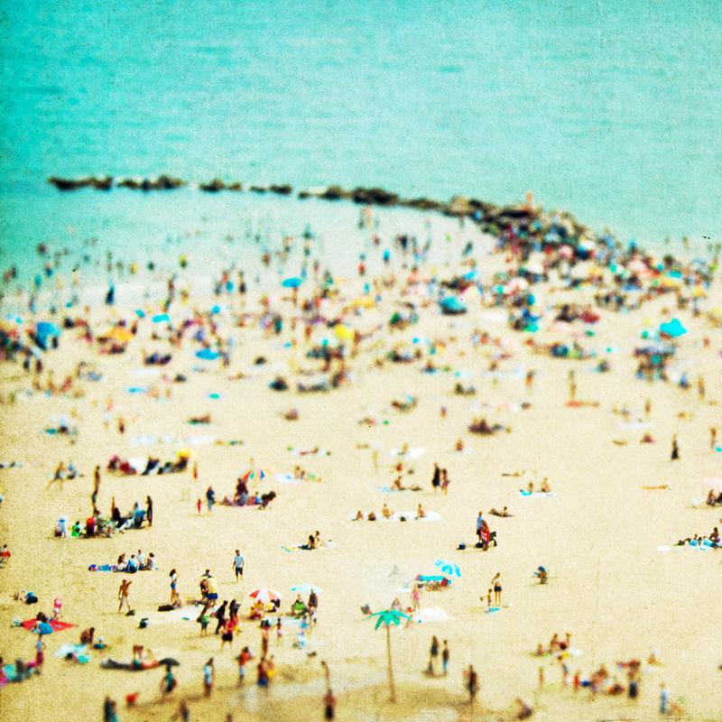 Coney Island Beach 2 Canvas Print