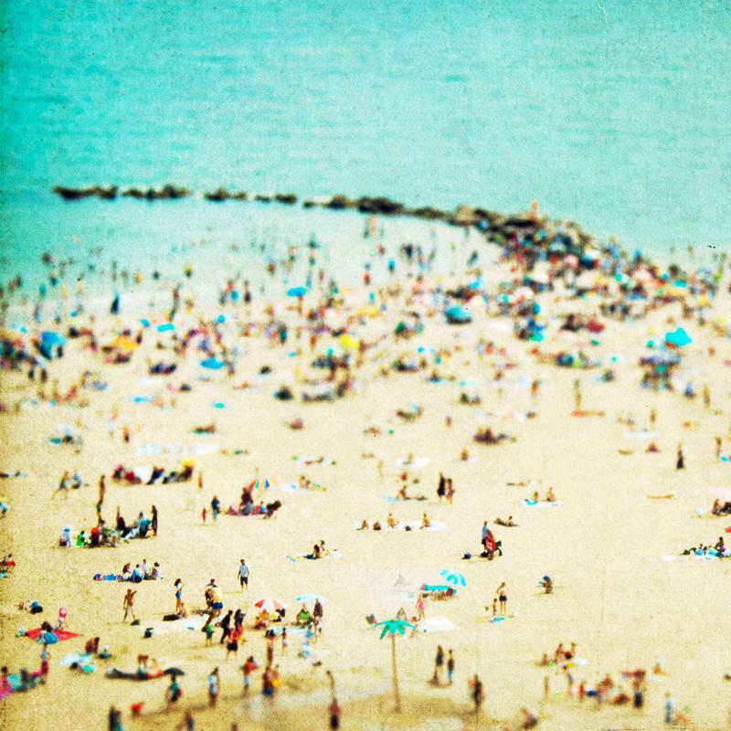 Coney Island Beach 2 Acrylic Print