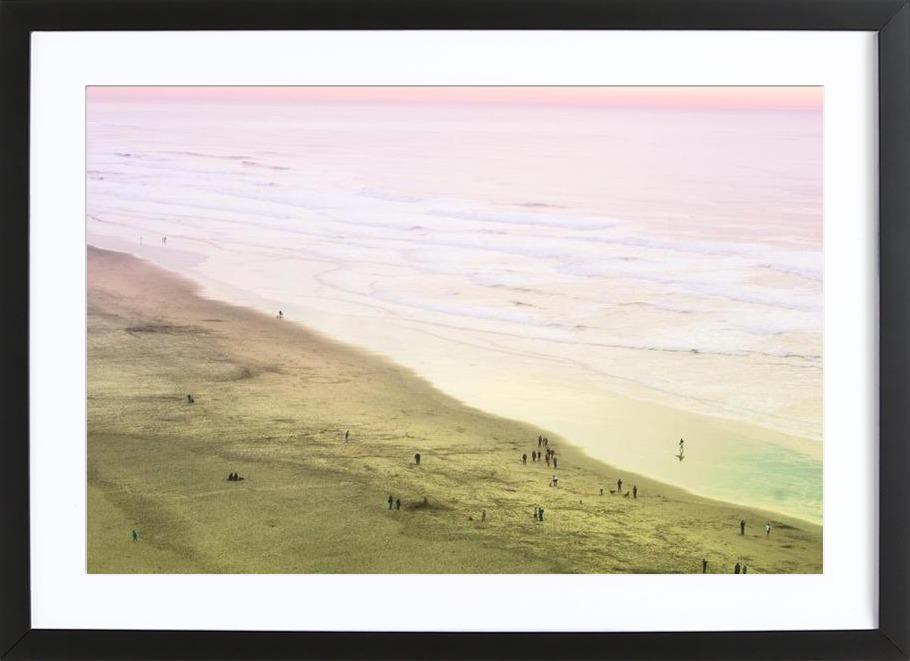 Ocean Beach California Framed Print