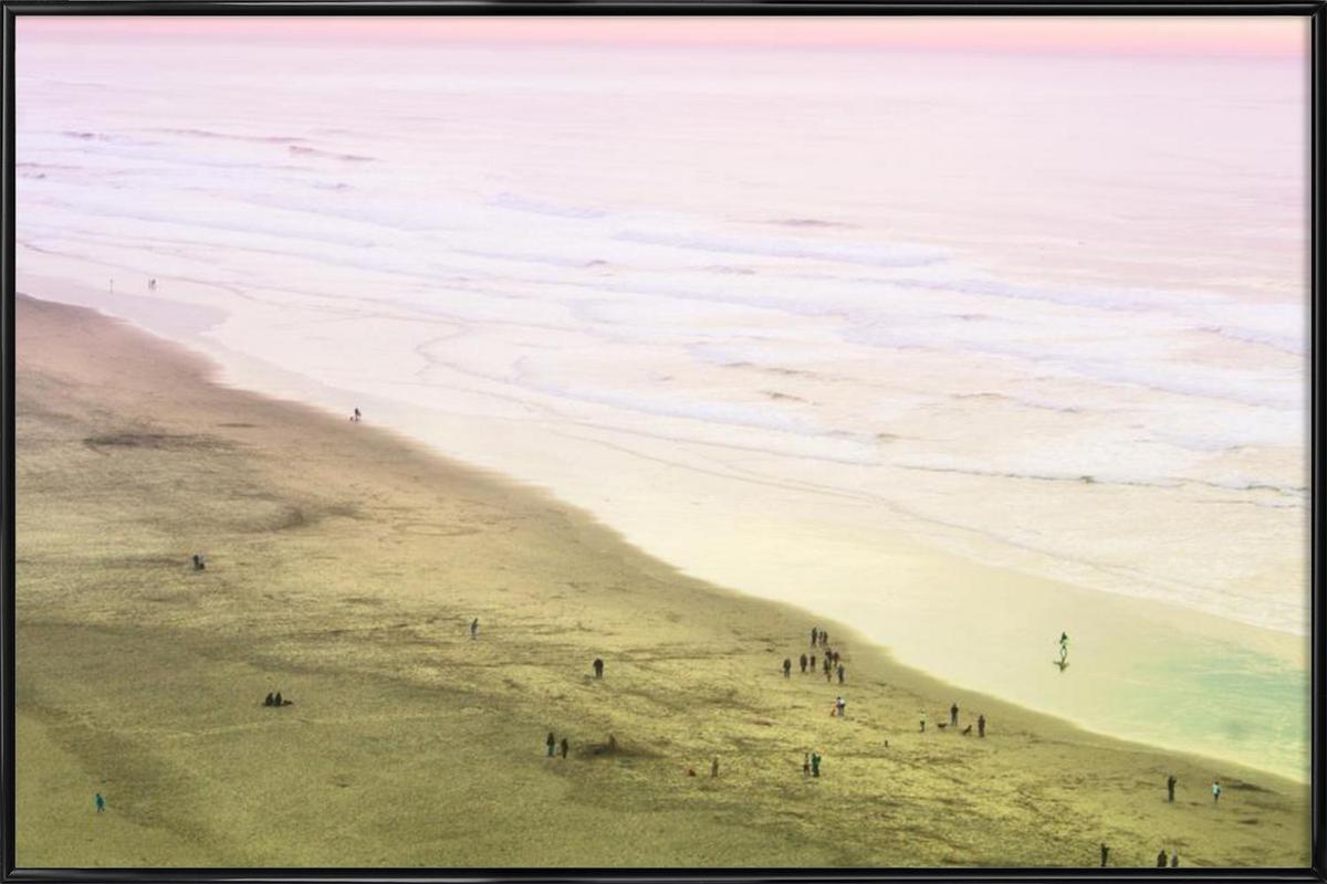 Ocean Beach California Framed Poster