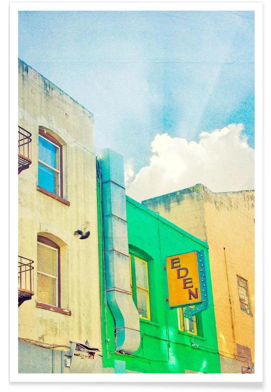 Architectural Details, San Francisco Eden Poster
