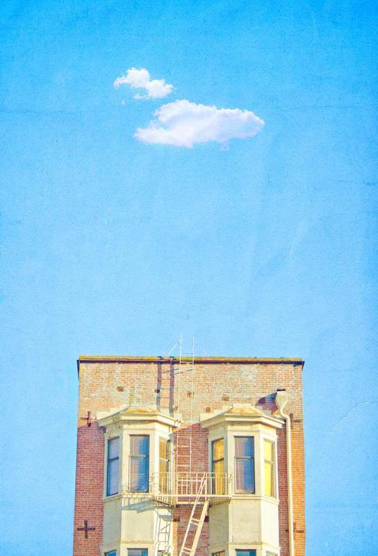 San Francisco Loney Cloud -Alubild