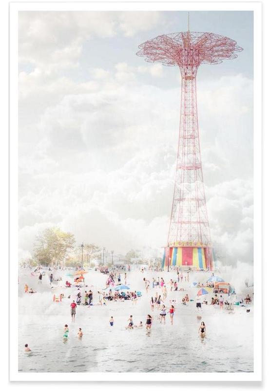 Brooklyn Eiffel Tower Poster
