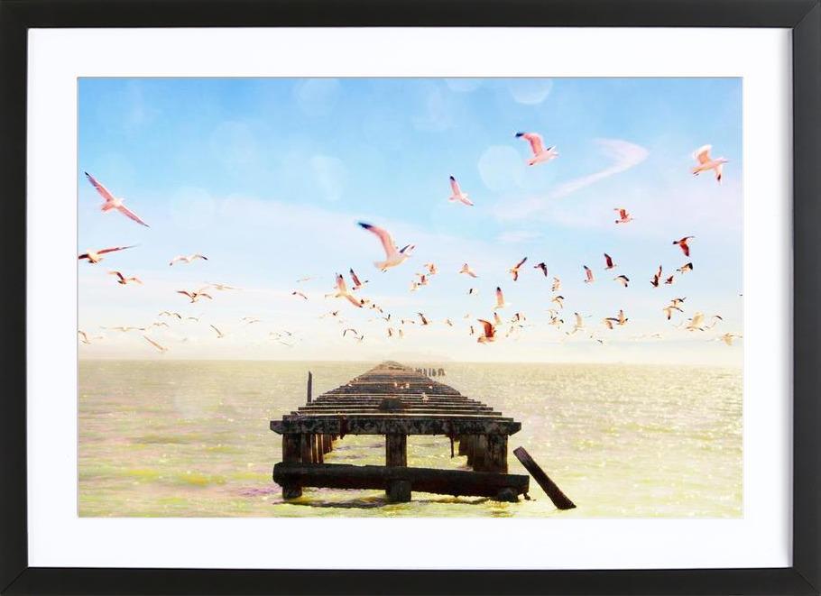 Berkeley Marina Framed Print