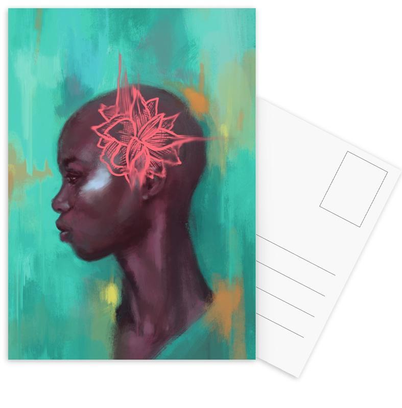 Portretten, Amaryllis ansichtkaartenset