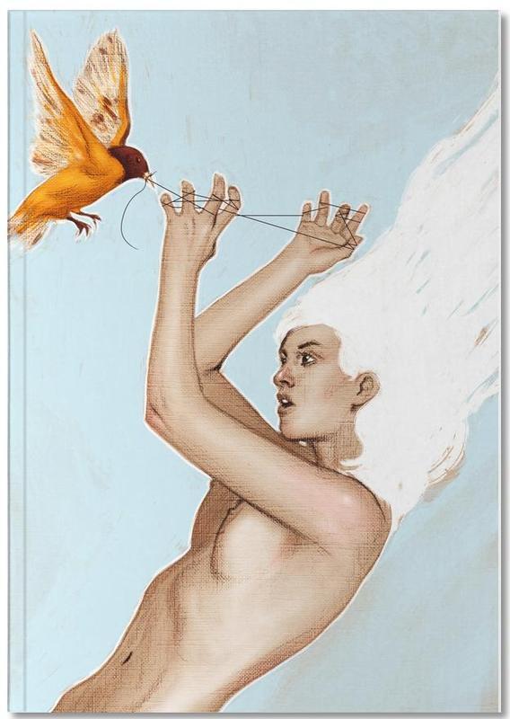 Nude, Baltimore Oriole Notebook