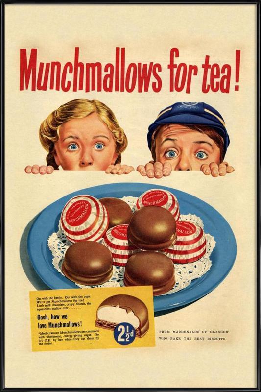 Munchmallows Framed Poster