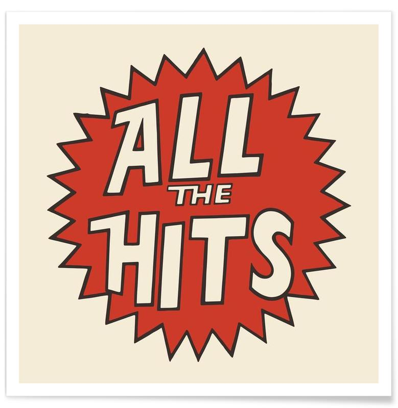 , All the Hits Poster