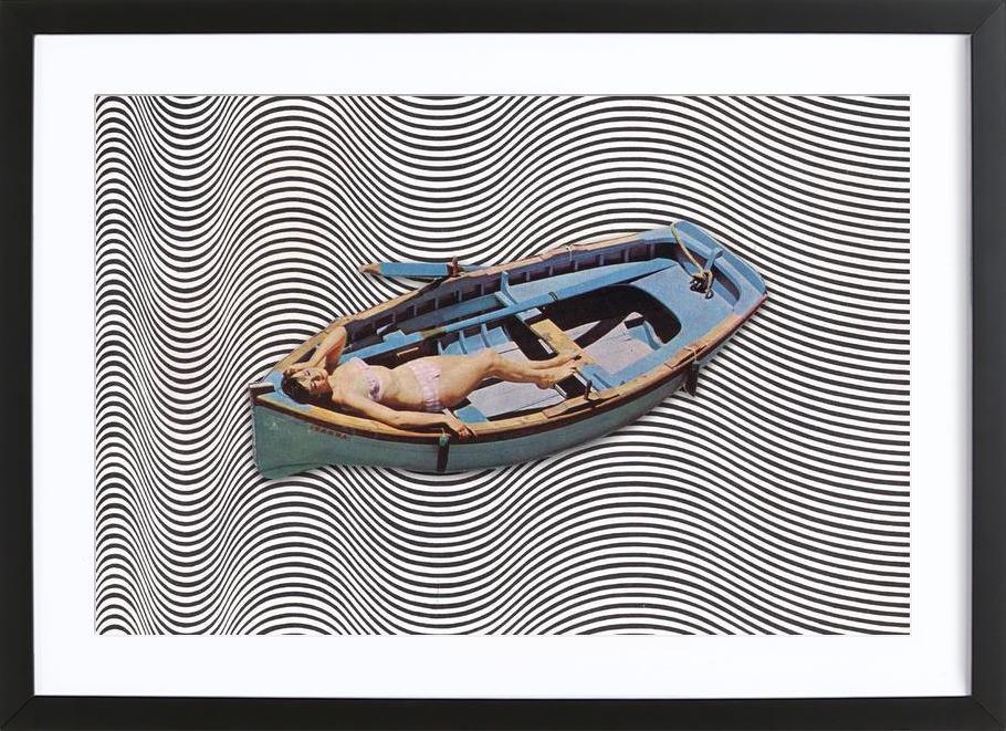 Adrift Framed Print