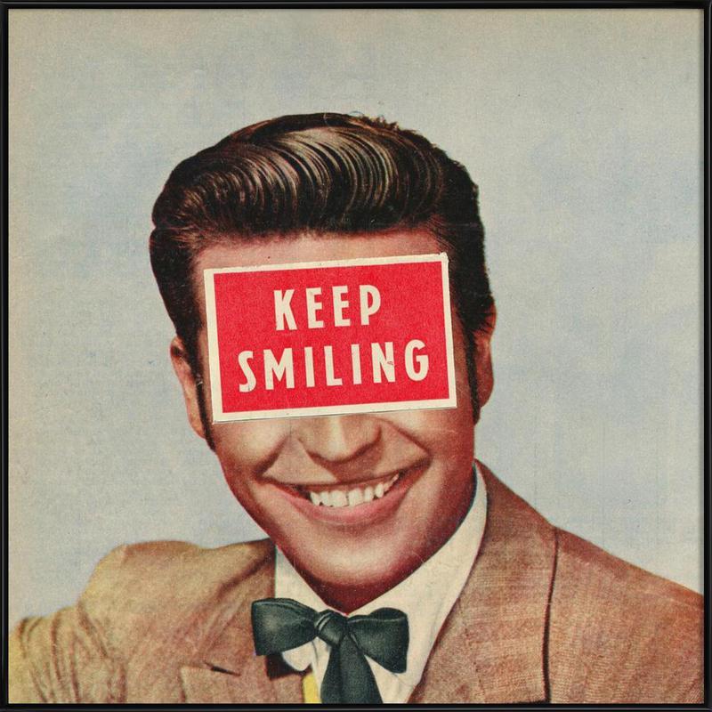 Solid Advice Framed Poster