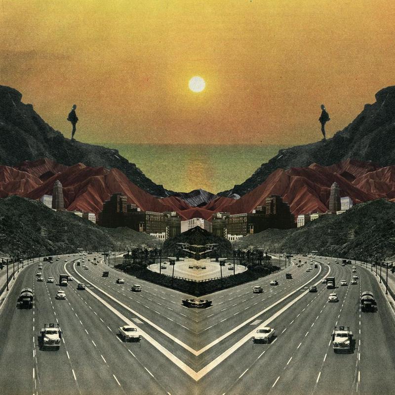 End Of The Road -Acrylglasbild