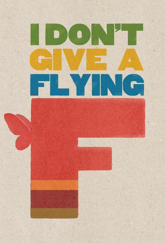 flyingf -Acrylglasbild