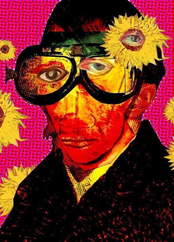Pablo van Gogh 4 -Leinwandbild