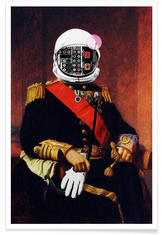 Space General Plug Man Poster