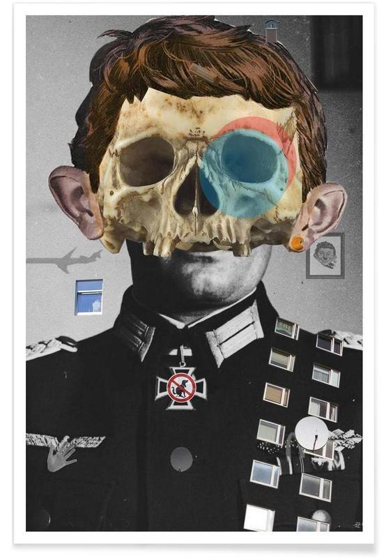 Crânes, War Collage 2 affiche