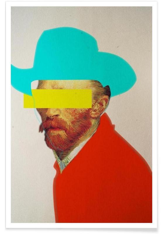I Wanna Be A Cowboy Vincent -Poster