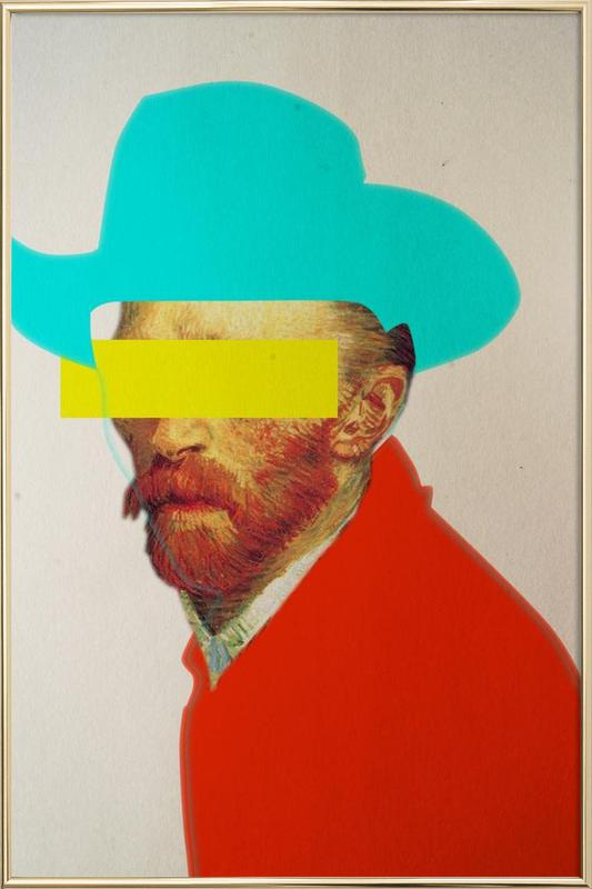 I Wanna Be A Cowboy Vincent Poster in Aluminium Frame