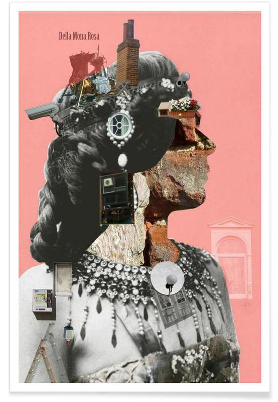 Rétro, Crazy Woman – Della Mona Rosa affiche