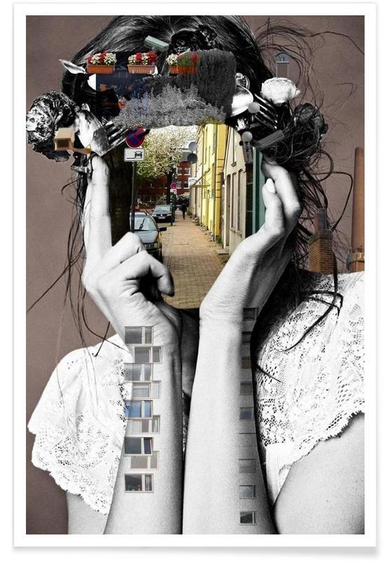 Portretten, Crazy Woman – Lara Lisa Bella poster