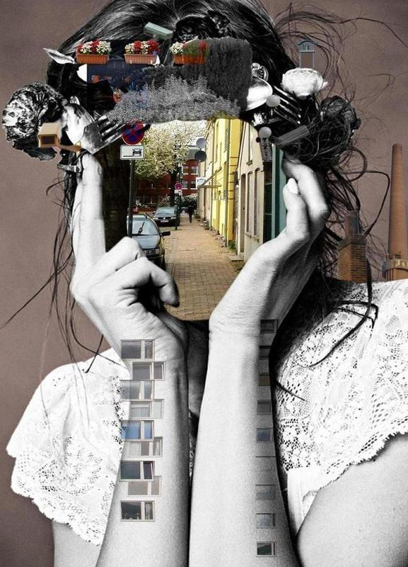 Crazy Woman – Lara Lisa Bella canvas doek