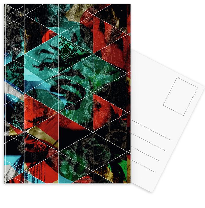 Marilyn Mix 7 Postcard Set