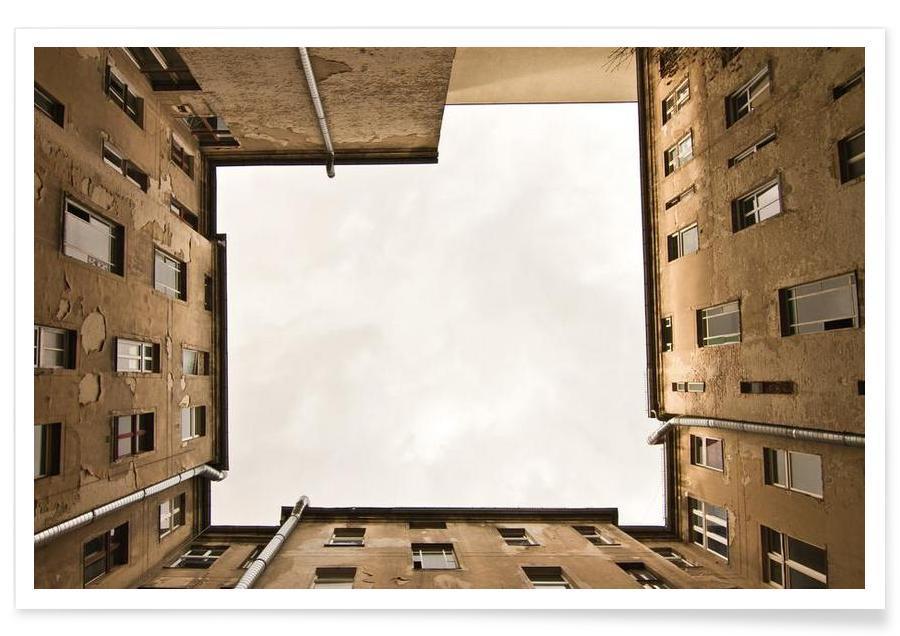 Architectural Details, Hinterhof 12 Poster