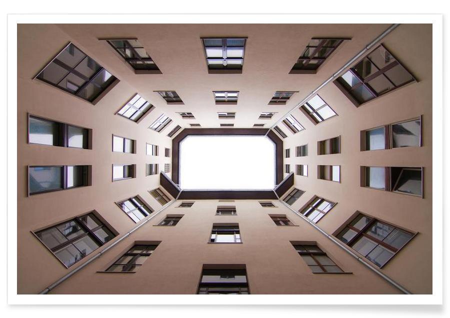 Détails architecturaux, Hinterhof 60 affiche