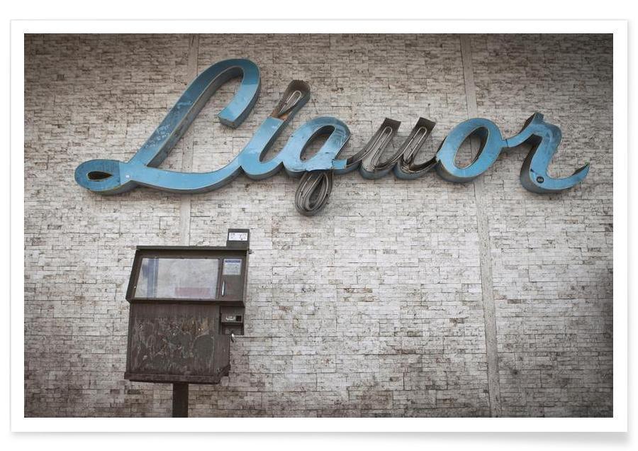 Détails architecturaux, Liquor Sign affiche