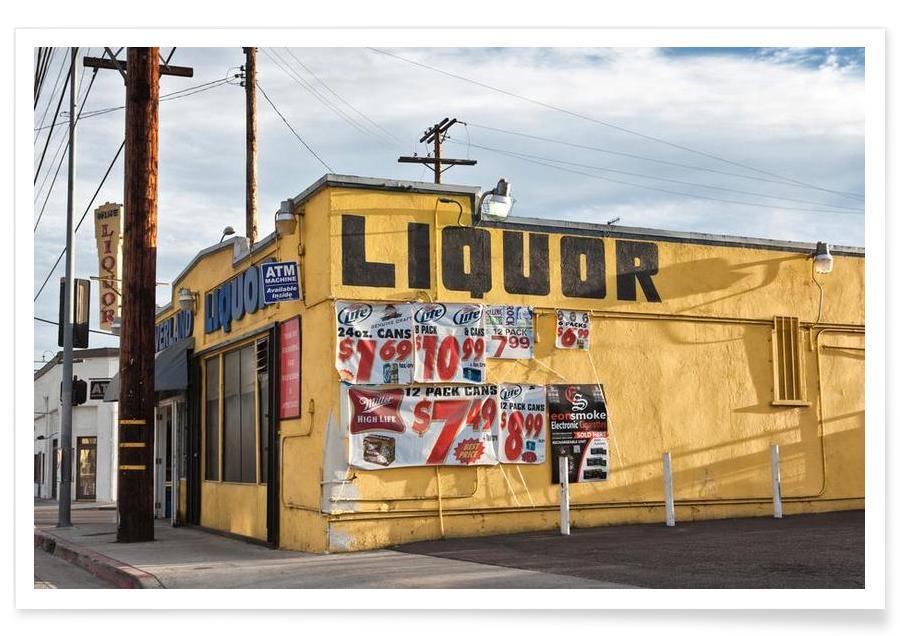 Détails architecturaux, Liquor Store Culver City affiche