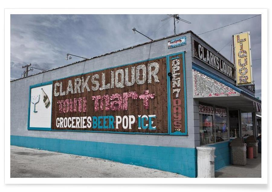 Architectonische details, Liquor Store Hawthorne poster