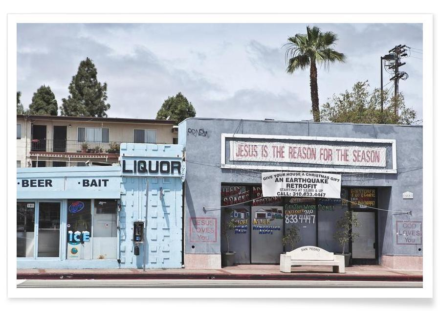 Liquor Store San Pedro Poster