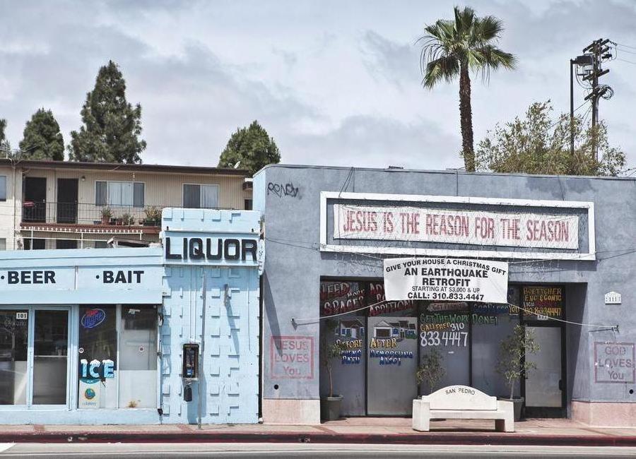Liquor Store San Pedro Canvas Print