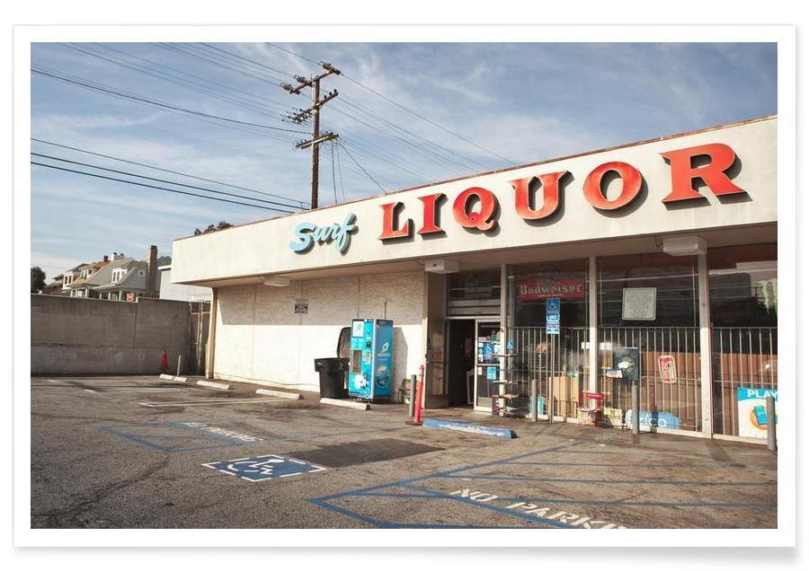 Détails architecturaux, Liquor Store Santa Monica affiche