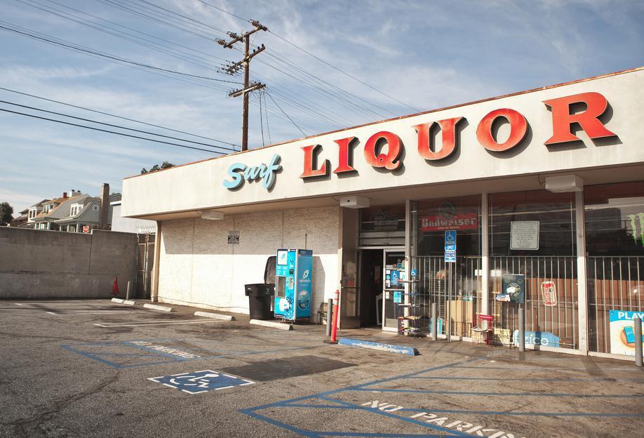 Liquor Store Santa Monica Acrylic Print