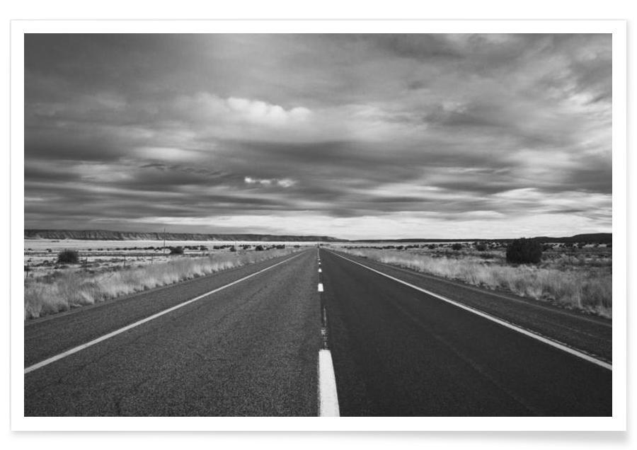 Open Roads Poster