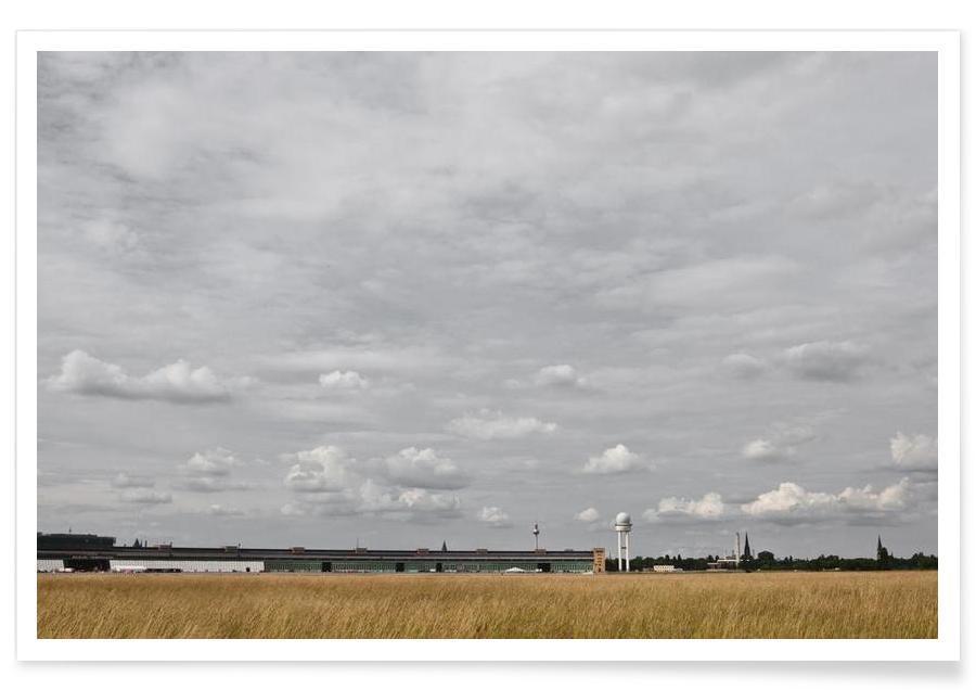 Berlin, Ciels & nuages, Tempelhof affiche