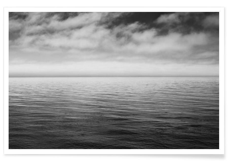 Noir & blanc, Océans, mers & lacs, PC3 affiche