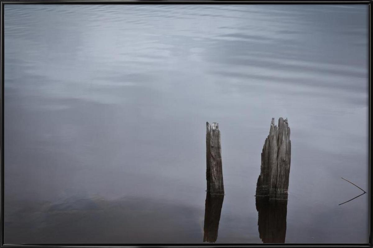 Mississippi Stillness Framed Poster