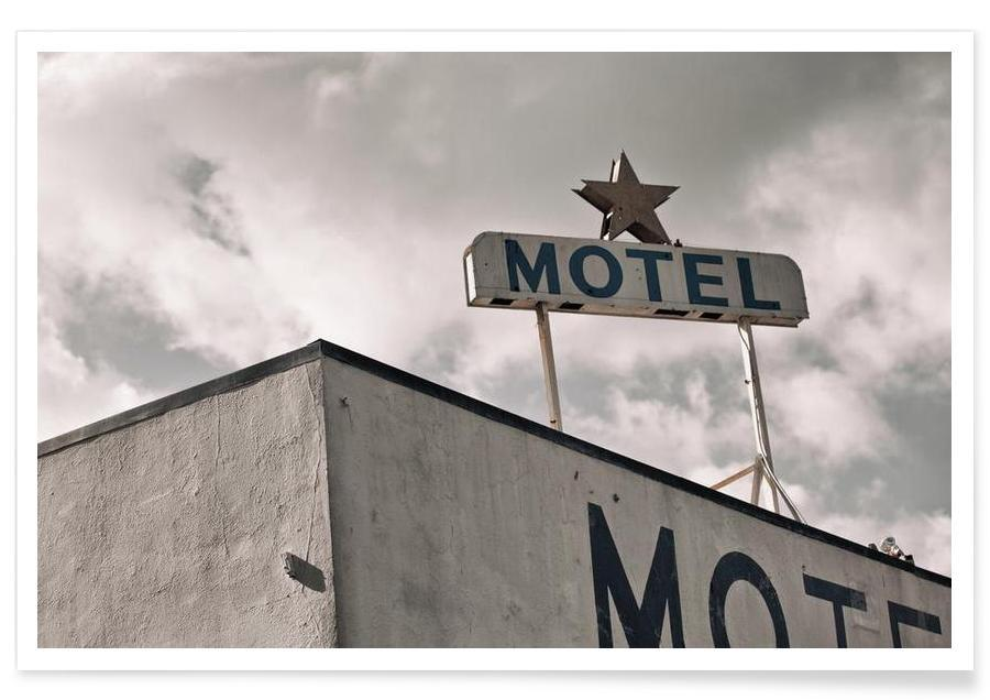 Architectural Details, Motel Poster