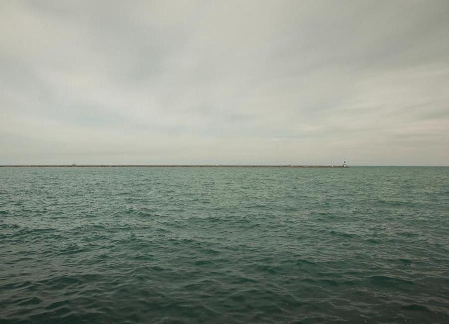 Lake Michigan -Leinwandbild