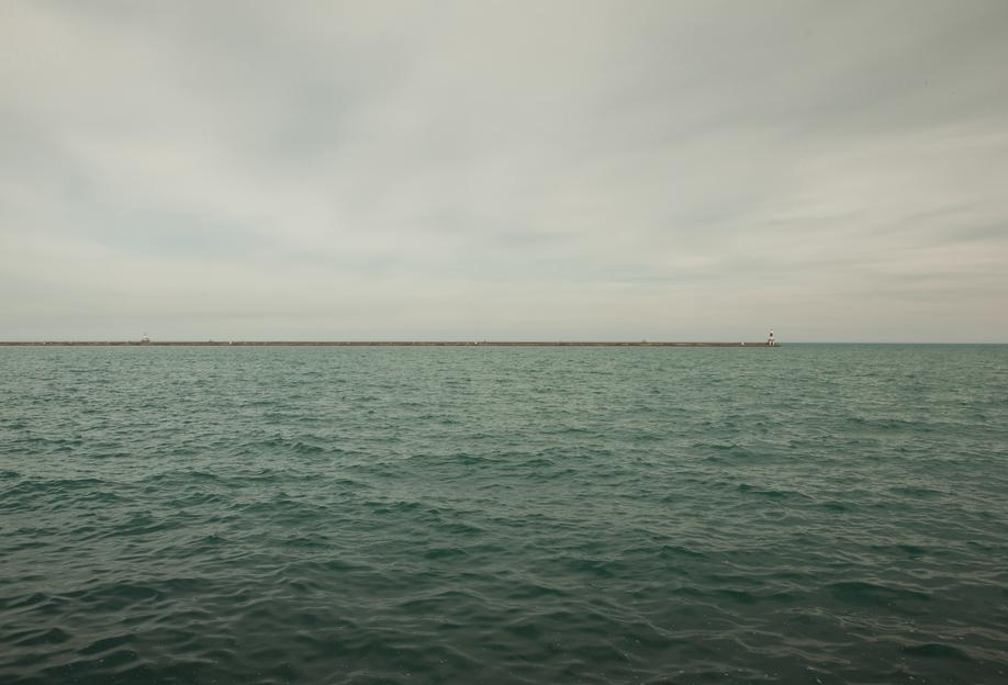 Lake Michigan -Acrylglasbild
