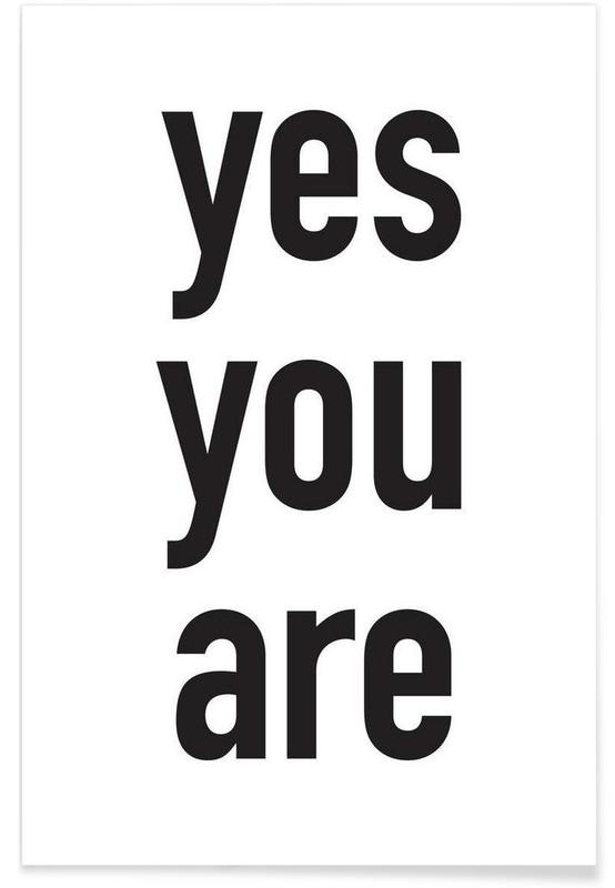 Yes you are -Poster