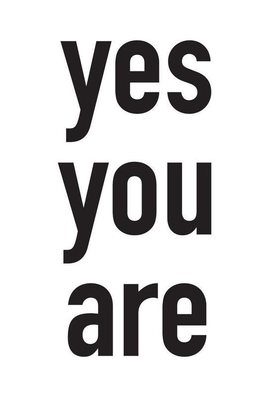 Yes you are acrylglas print