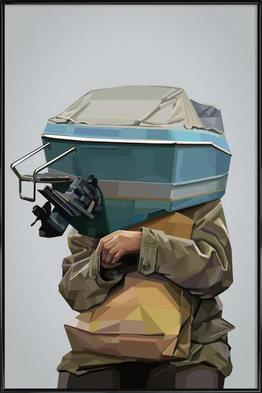 Boatface Framed Poster