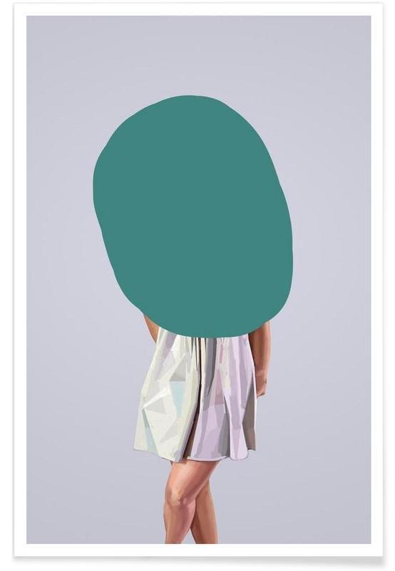 Créatures et hybrides, Turquoise affiche