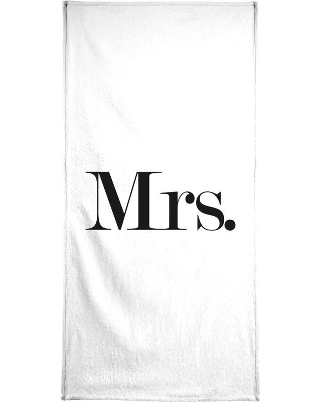 Mrs. Bath Towel