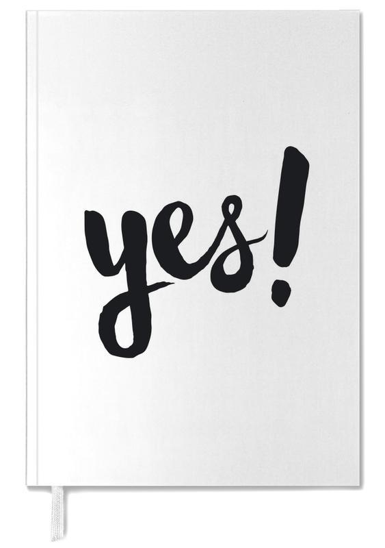 Quotes en slogans, Felicitaties, Trouwen en bruiloften, Zwart en wit, Yes agenda